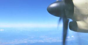 Mockup motor de avión