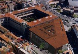 Imagen virtual de la cubierta del Museo Nacional Centro de Arte Reina Sofía