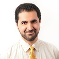 Damon Afkari, ingeniero de proyectos en Principia