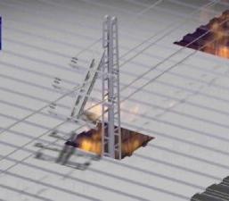 Ingeniería forense-Secuencia colapso torre media tensión