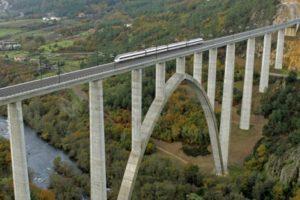puente ferroviario integral sin juntas