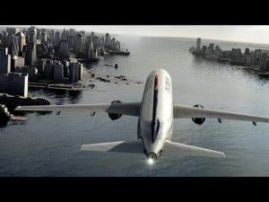Impacto de pájaros contra aviones