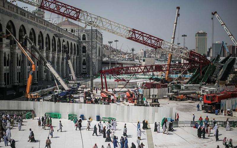 PRINCIPIA Proyectos - Caída de grúa en la Meca