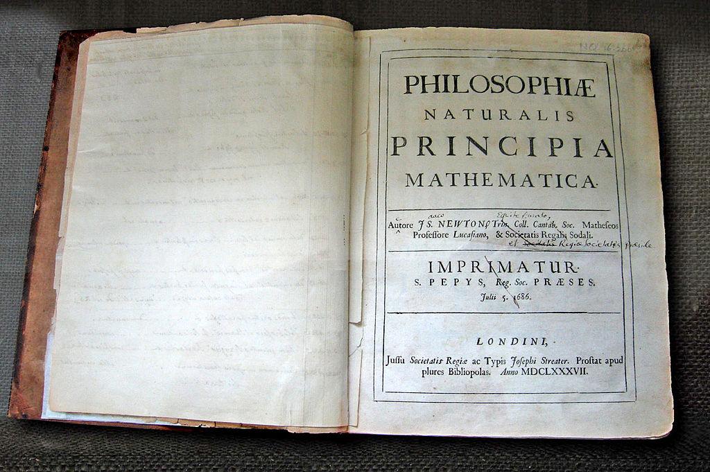PRINCIPIA Libro Philosophie Naturalis