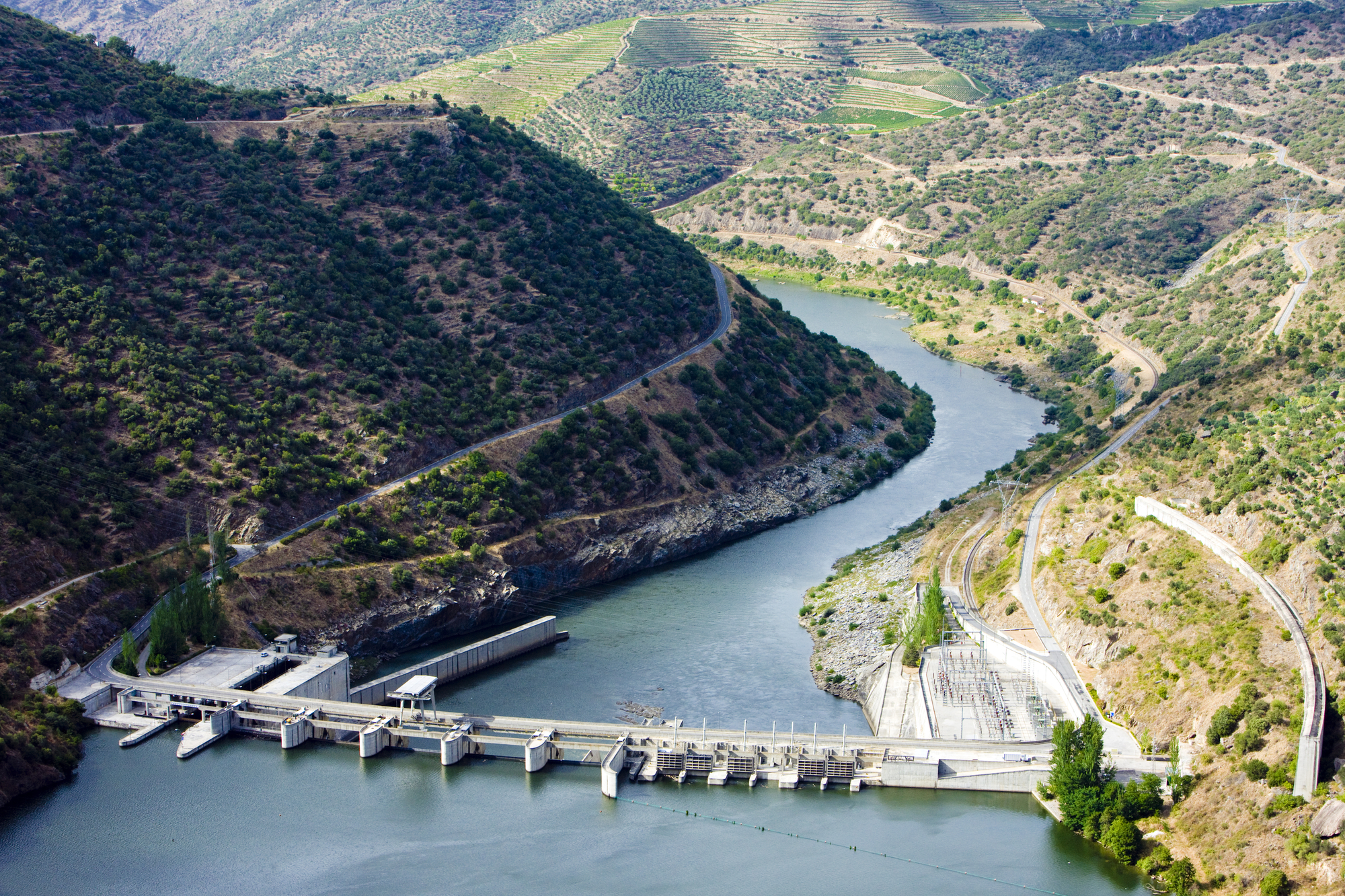 Las presas, el control del agua por la humanidad